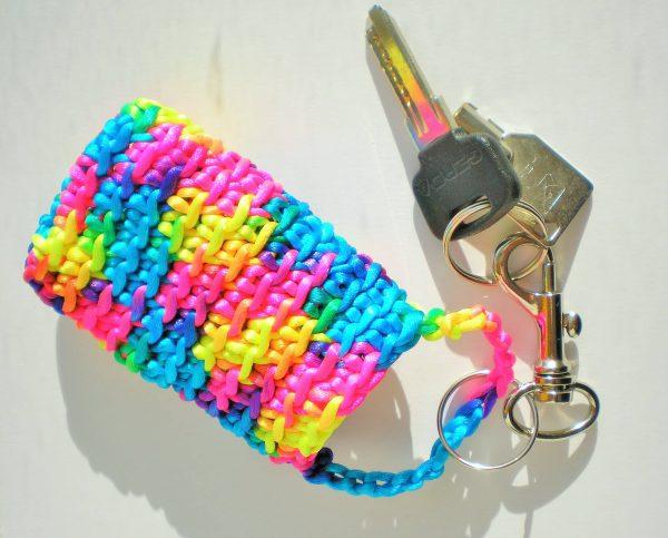 kolorowe etui na klucze