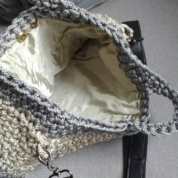 szydełkowa torba 3 kolory