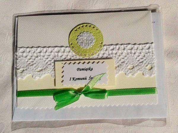 kartka komunijna dla chłopca i dziewczynki